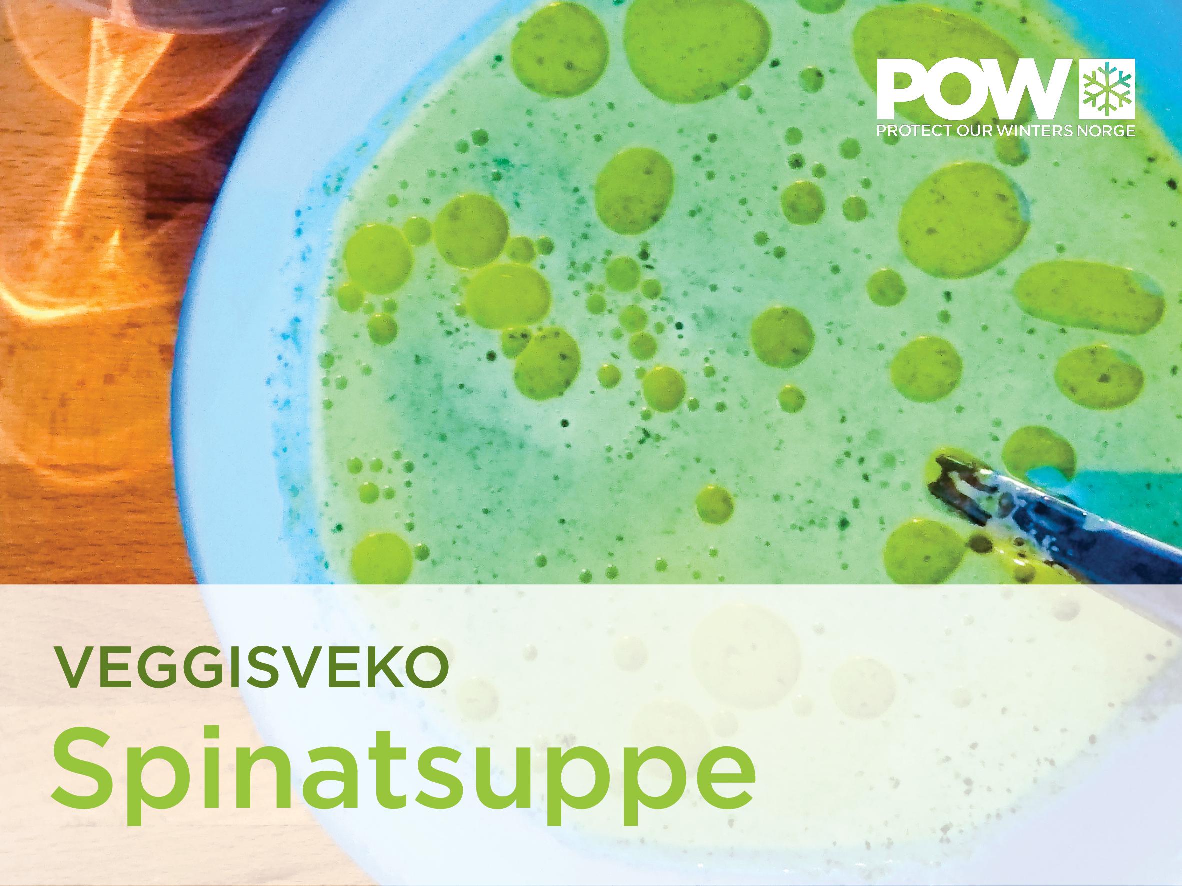 Veggisveko dag #4: Spinatsuppe